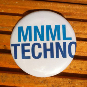 Minimal-Techno Pin Buttons