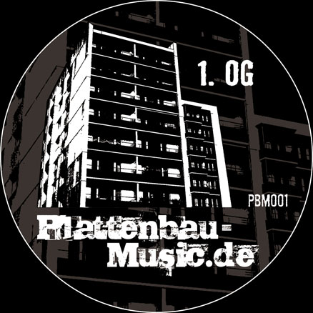 Plattenbau-Music Vinyl Schallplatte PBM001 TonkBerlin Chimpys Brother Chipmunk